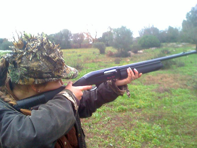 Cisternino Girls & Remington 1100 cal. 16